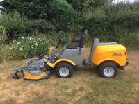 Stiga Titan Heavy Duty 4WD fully hydraulic ride on lawn tractor mower