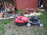 Mountfueld petrol lawnmower, spares / repair. Delivery available