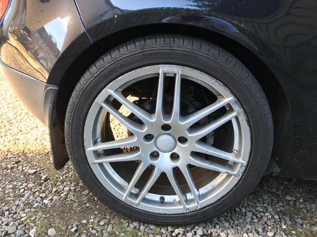 ***Rs4 Alloys with plenty tread on tyres***