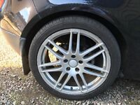 Amazing deal RS4 alloys with tyres Audi/VW Etc