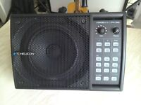 TC Helicon VoiceSolo FX150, PA Monitor Speaker & Padded Bag