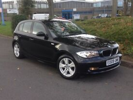 2009 BMW 1 SERIES 2L DIESEL ONLY **63000 MILES** STUNNING CONDITION**