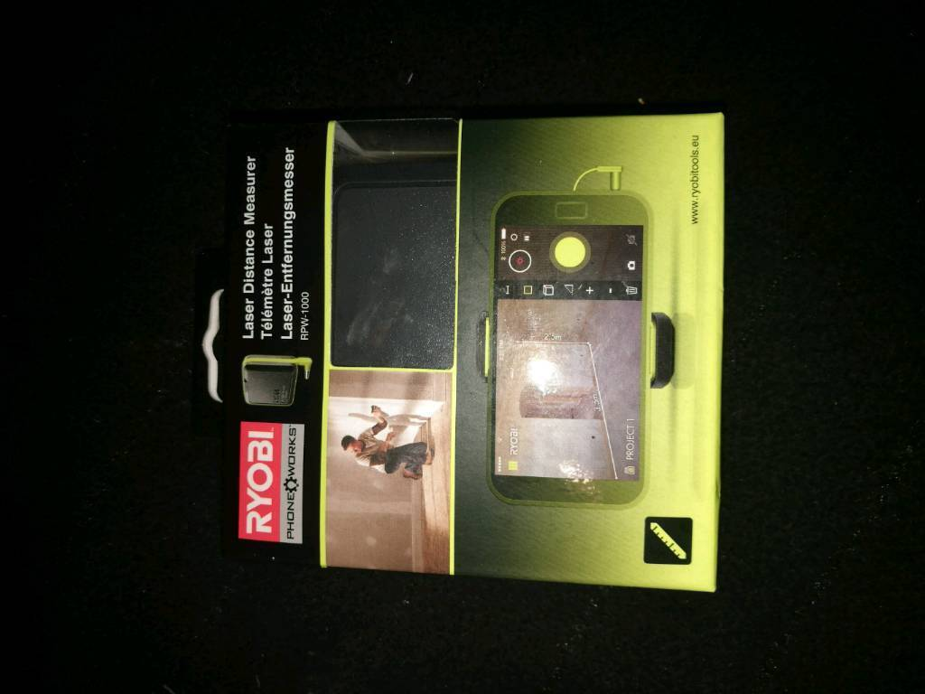 Ryobi laser measure new sealed open to offers in newcastle