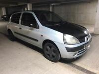 Renault Clio 1.2 Dynamique Sport 16v Low Mileage Clean Silver Bargain Quick Sale Mot
