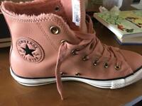 Brand New Leather Converse Trainers