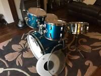 Black Mamba Part Drum Kit
