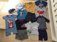 Summer clothes bundle 12-18 months