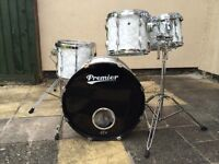 4 PIECE PREMIER DRUM KIT