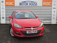 Vauxhall Astra (ACTIVE) FREE MOT'S FOR AS LONG AS YOU OWN THE CAR!!! (red) 2012