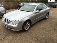 Mercedes-Benz CLK 3.2 CLK320 Elegance Automatic,service history,mot till late october,Very clean