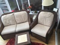 1 & 2 seater Conservatory Furniture