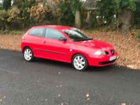 SEAT IBIZA 1400 CC FULL SERVICE HISTORY LONG MOT IMMACULATE CONDITION