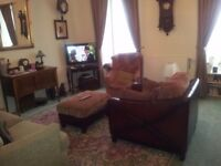 2 bed large furnished flat for rent,