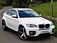 STUNNING! (2010) BMW X6 3.0 XDRIVE 35D -22 INCH ALLOYS - FULL SERVICE HISTORY - LEATHER - SAT NAV