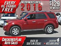 2012 Ford Escape Ltd 4x4 Flex Fuel- Heated Leather-Sunroof