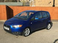 59 REG NEW SHAPE MITSUBISHI COLT 5 DOOR 88K FULL MOT NICE SPEC DRIVES GREAT CHEAP MODERN CAR