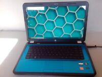 FAST HP G6 Blue Laptop: *15.6'' HD *AMD E2 Dual CPU 1.8GHz *250GB *6GB *Windows10 Pro *Ofice2016 Pro