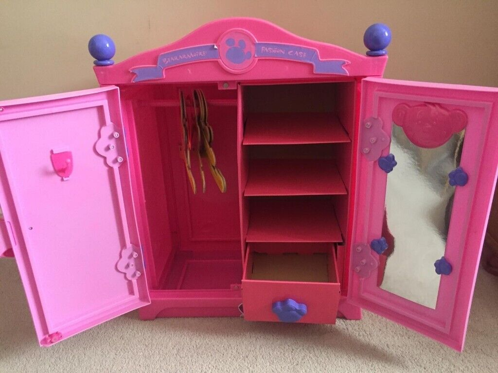 Build A Bear Furniture All Items Are Pink Wardrobe Fold Out Bed