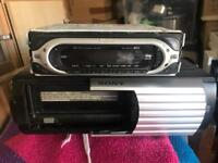 Sony Car Stereo and 6 Disc Changer