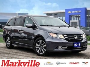 2015 Honda Odyssey TOURING-LEATHER-NAVI-DVD-ROOF-CERTIFIED PRE-O