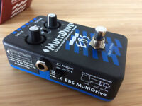 EBS Multidrive Universal Overdrive Bass Pedal for Sale!