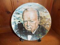 Winston Churchill Collectors Plate
