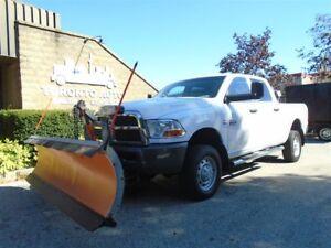 2011 Dodge Ram 3500 4X4, 9ft Arctic plow, Cummins Diesel.
