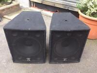 Wharfedale Pro LX-18B Bass Bins - 800 watts 4 ohms