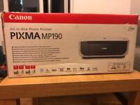 Canon Pixma MP190 all in one photo printer
