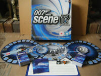 007 EDITION, SCENE IT? THE DVD BOARD GAME. By Screen Life 2004. Complete.