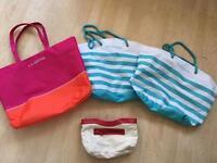 Ladies clarins bags