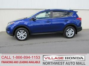 2014 Toyota Rav4 Limited AWD | Local | One Owner