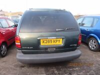 2000 CHRYSLER VOYAGER, 2.5 DIESEL, BREAKING PARTS ONLY, POSTAGE AVAILABLE NATIONWIDE