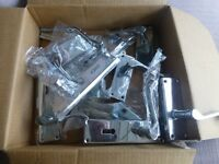 chrome door handles, new some fittings. all excellent condition.