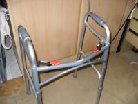 FOLDING WALKING FRAME AS NEW CONDITION COST £69 ! CAN DELIVER LOCALLY
