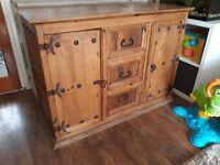 Solid Oak Sideboard for sale £90 in Harlow