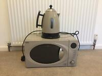 NEXT matching kettle and microwave