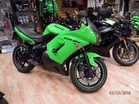 Kawasaki EX650 / 2008/ Green