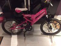 Muddy Fox, Athena, Girls Suspension Mountain Bike