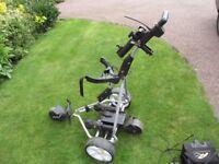 Powakaddy remote control electric golf trolley