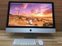 "27"" iMac, i5 Processor, 8GB Ram, 500GB Hard Drive, warranty,Microsoft Office"