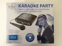 Easy Karaoke Party Pack with Microphone & Charts Hit CD + G Demo Disc