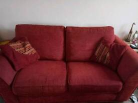 2 piece suite with sofa bed **reduced. GSTC