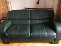Leather Sofabed DFS