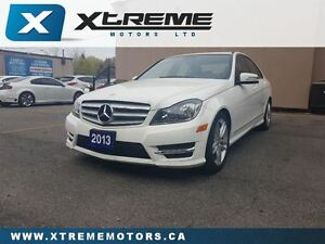 2013 Mercedes-Benz C-Class C300 4MATIC/ NAVI/ SUNROOF/ CAMERA