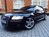 Audi A8 3.0 TDI Sport Quattro 4dr ONLY 65K miles++FSH++PART X WELCOME not s8 a4 a5
