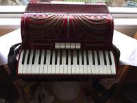 "Vintage Italian Gaudini II 120 bass 3 Voice Accordion ""Fully Serviced"""