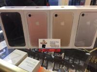 APPLE IPHONE 7 32GB UNLOCKED BRAND SEAL BOX 12 MONTH APPLE WARRANTY & SHOP Receipt