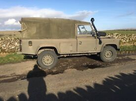1995 EX MILITARY LANDROVER 110, STRAIGHT FROM MOD