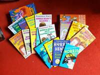 17 Horrid Henry Books